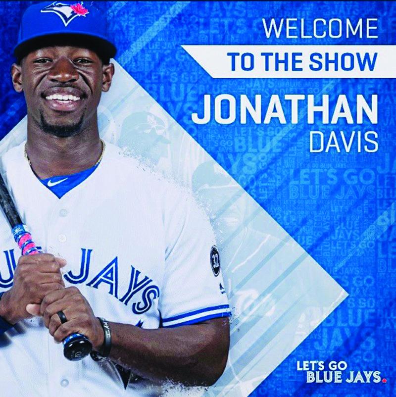 e5cd87ab3b3 J. Davis joins the Toronto Blue Jays