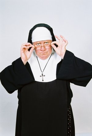 """The one-woman comedy show """"Late Nite Catechism"""" runs at the Walton Arts Center through Sunday. Sept. 16."""