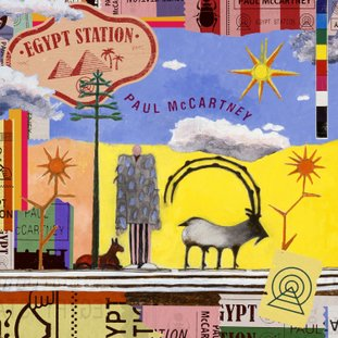 "This cover image released by Capitol Records shows ""Egypt Station,"" the latest release by Paul McCartney. (Capitol via AP)"