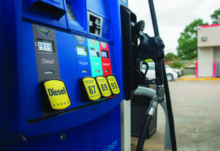 Average unleaded regular gasoline prices in Columbia County Monday averaged $2.72 per gallon – the highest for the area and tied for highest in the state, according the nationwide survey firm GasBuddy. For southwest Arkansas, only Union and Nevada Counties, both at $2.69 per gallon, came close to the prices seen locally.
