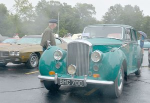 Keith Bryant/The Weekly Vista Among the vehicles on display was a 1952 Bentley MK VI, owned by George and Mary Kalin.