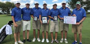 The SAU Mulerider gollf team won the GAC Preview held Monday and Tuesday in Oklahoma City.