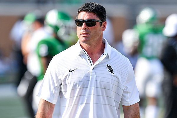 Seth Littrell is 16-13 in his third season as head coach at North Texas.