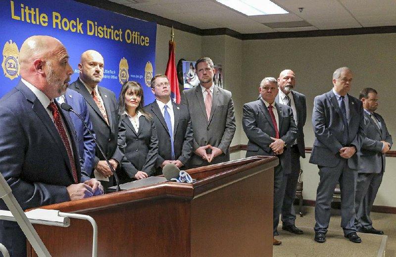 Drug task force makes 1,260 arrests in Arkansas