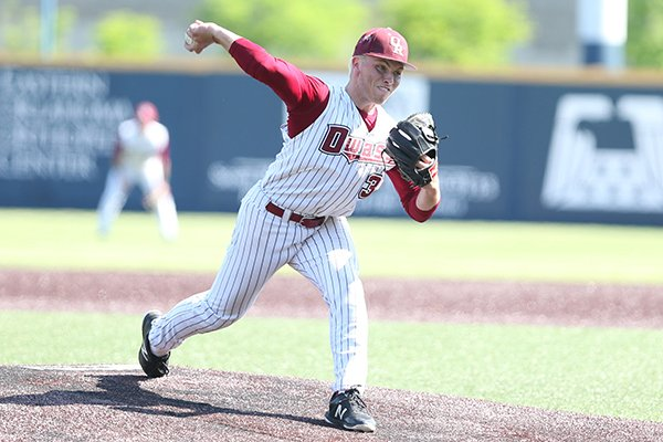 Owasso, Okla., pitcher Nate Wohlgemuth is considered one of the top 15 prospects in the high school class of 2020.