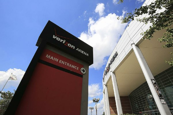 Verizon Arena is shown in this 2018 file photo.