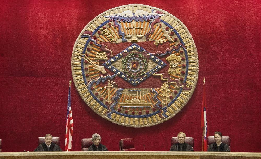 5 justices file in own court to scrap case | Arkansas Democrat-Gazette