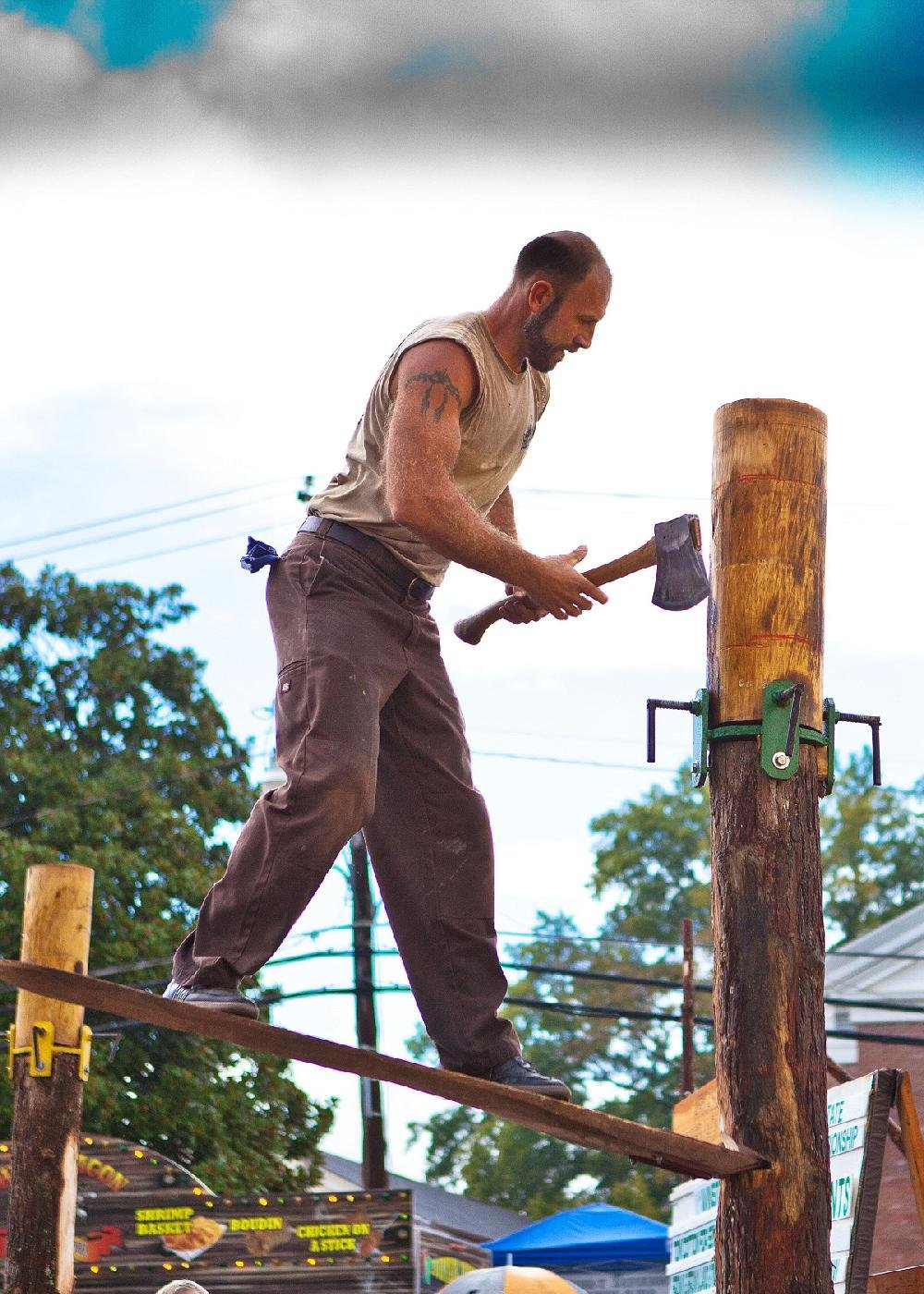 Axe to grind? The 35th annual Timberfest will be held in downtown Sheridan on Friday and Saturday.