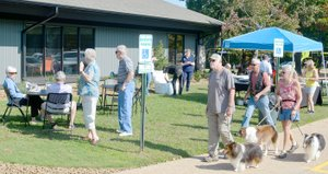 Keith Bryant/The Weekly Vista New features were on display and a free breakfast was available during the grand opening at Branchwood Recreation Center last Saturday, Sept. 29.