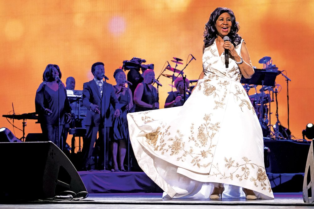 """Aretha Franklin is shown in this file photo. Performers will celebrate the life of Aretha Franklin as Opera in the Rock presents """"Divas in the Rock II: A Tribute to the Queen of Soul""""."""