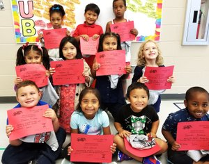 Photo Submitted Noel Primary School is excited to announce the Terrific Tiger recipients for Sept, 24, 2018. Front row from left is: Bladen Pickle, Mia Garcia, Hteh Lin, and Lyman Hassan; (second row from left), Isabella Ledezma, Katherine Ya, Danna Salas, and Rachel Bartholomew; (third row from left), Brisa Cortes, November Htoo, and Moses Juda.