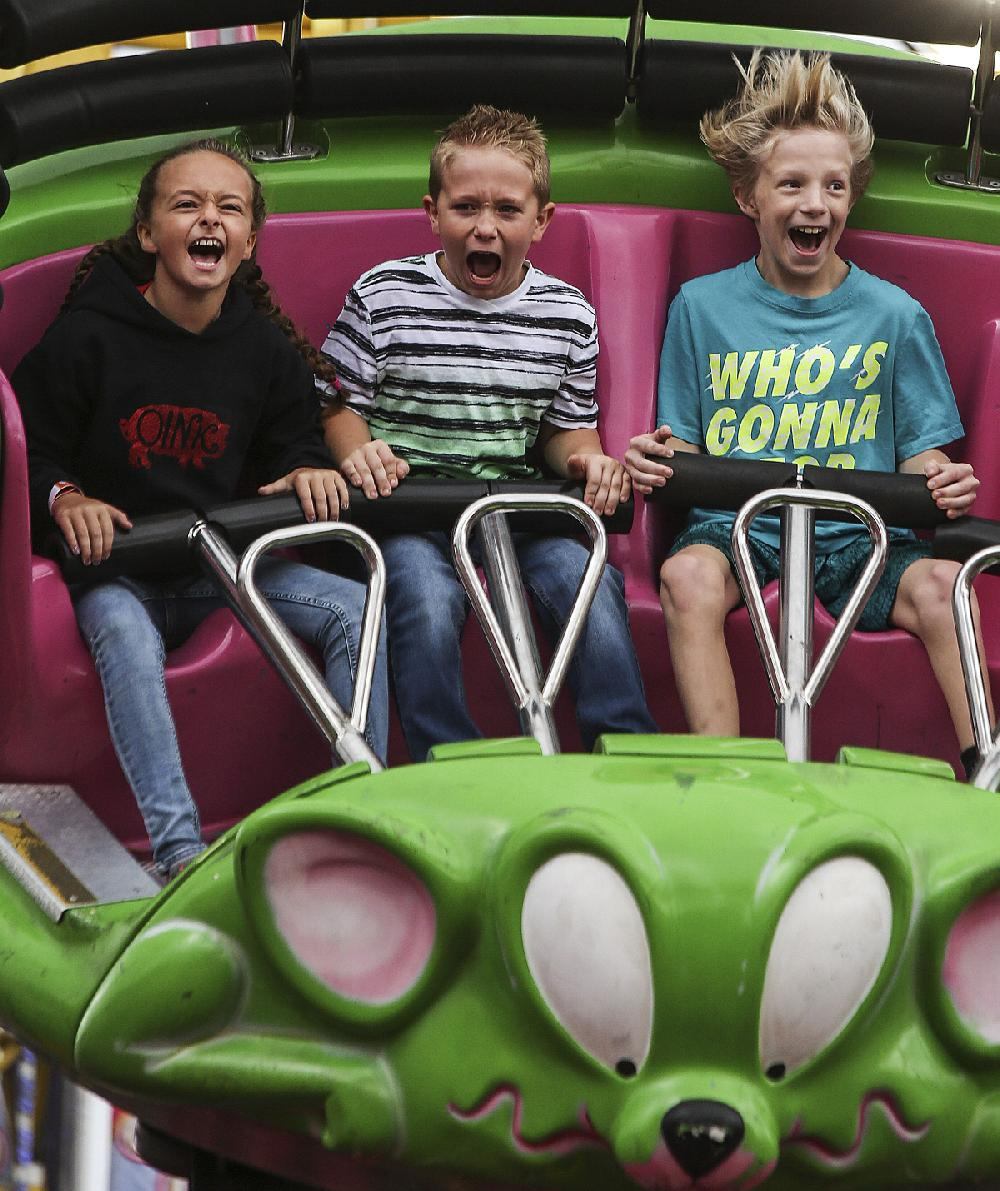 A carnival atmosphere: The Arkansas State Fair hits 79 and parties like a child