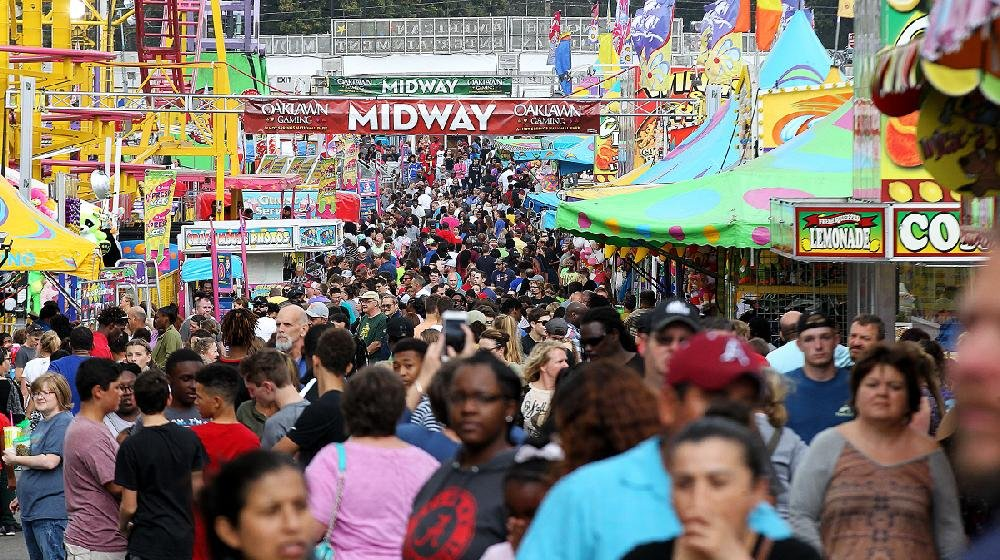 High-flying rides, food of every type and strolling entertainers will keep the State Fair's midway jumping.
