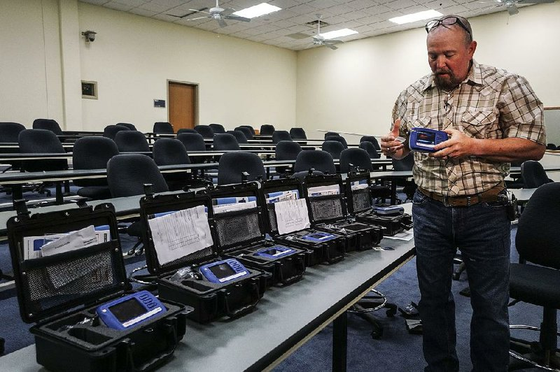 State buys 5 devices to scan drugs, keep officers safe