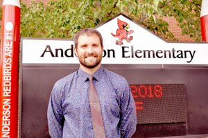 RACHEL DICKERSON/MCDONALD COUNTY PRESS Jonathon Derryberry is the new assistant principal at Anderson Elementary School.