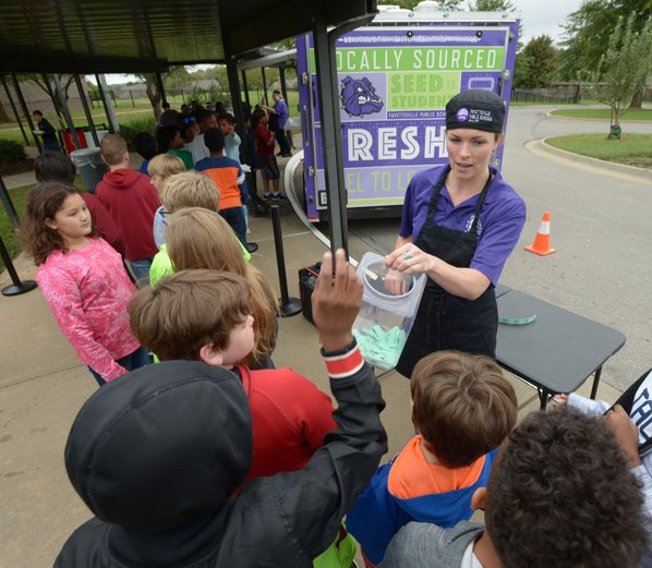 Fayetteville students excited about food truck stop