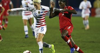 Forward Megan Rapinoe ...