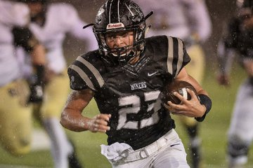 Bauxite running back ...
