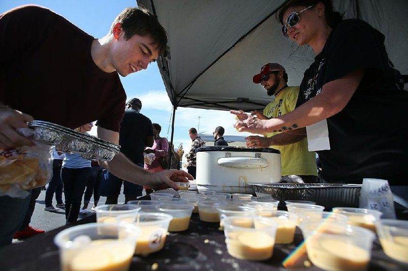 PHOTOS: 7,000 people at World Cheese Dip Championship in