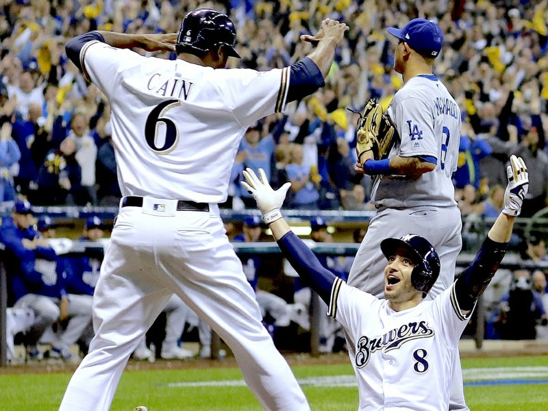 Aguilar, Brewers send NLCS to Game 7