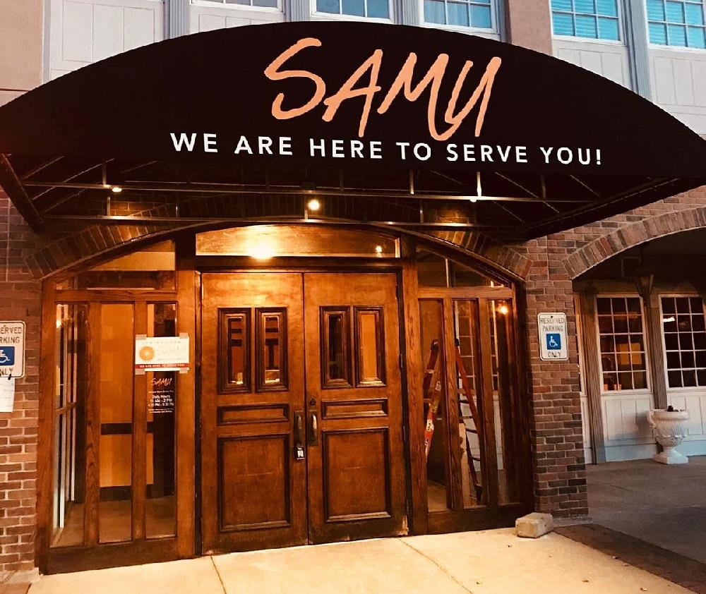 From their Facebook page: the front of Samu Bar Sushi Hibachi, opening Nov. 5 in the Village at Rahling Road.