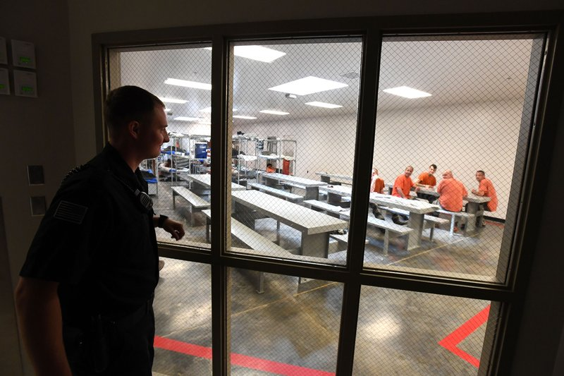 Benton County Jail looks to add scanner, update locks