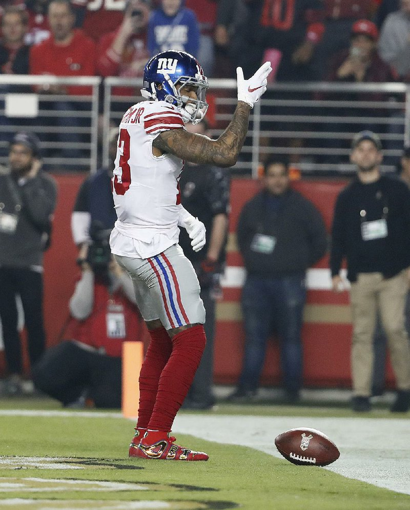 abbf6656 Manning's late TD pass lifts Giants over 49ers
