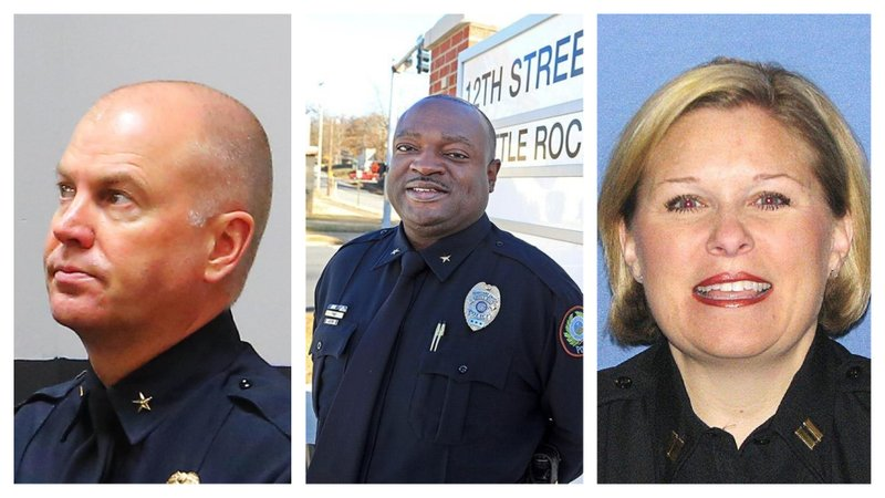 Little Rock sets plan to fill police chief position