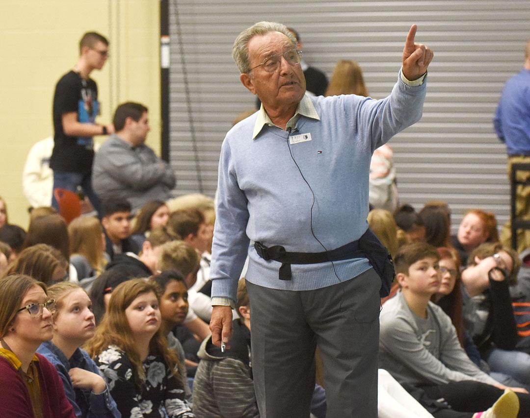 Holocaust survivor visits Bentonville students