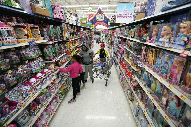walmart logs overall sales gain