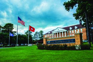 Southern Arkansas University in Magnolia.