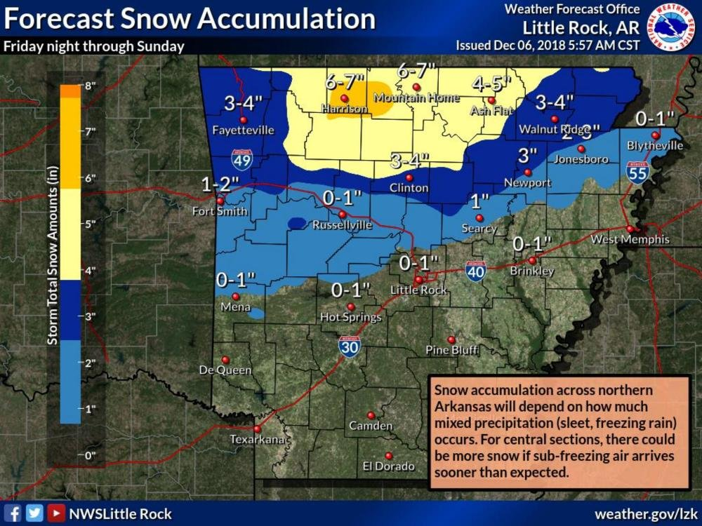 Snow Storm Weather Map.Winter Storm Watch Set For Parts Of The State Snow Ice Also