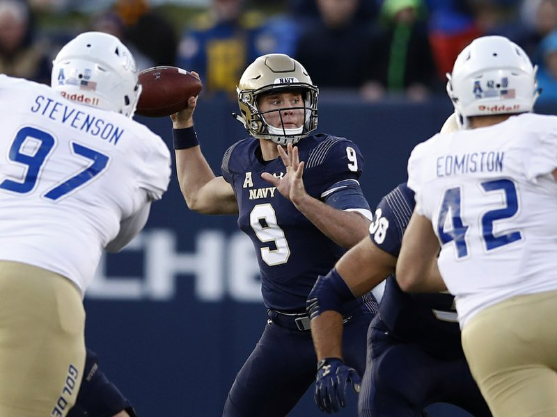 Army Navy Football Teams Meet For 119th Game