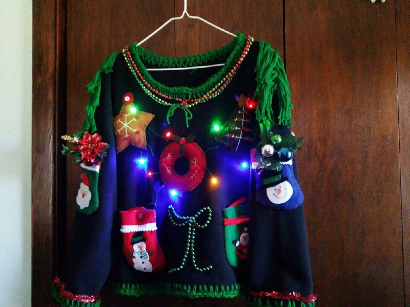 when it comes to clothing its the gaudier the better at the little rock marathons ugly sweater race on sunday