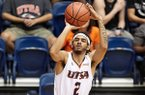 UTSA guard Jhivvan Jackson is averaging 16.8 points per game entering Saturday's contest with Arkansas in North Little Rock.
