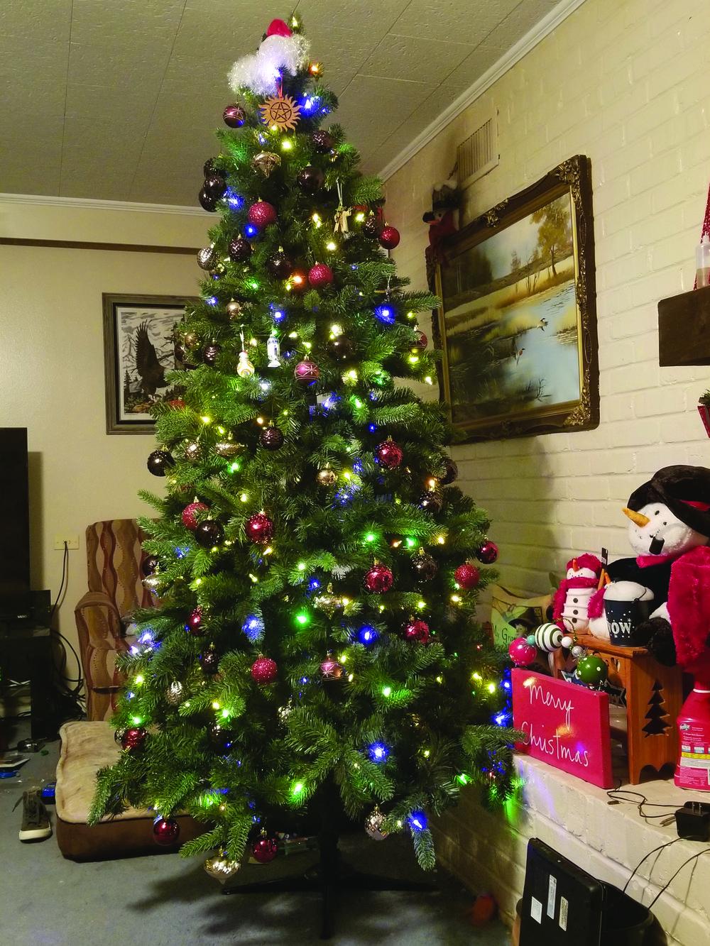 Ninja Turtle Christmas Tree.Christmas Trees And Their Decorations Have Evolved