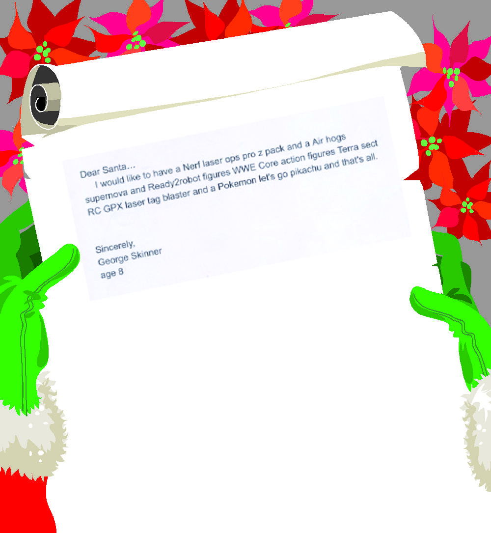 Letters to Santa - Junction City Elementary III