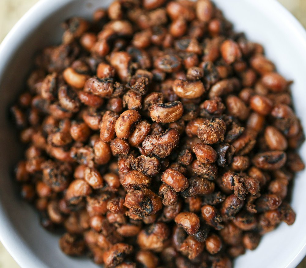 Chile Roasted Black-Eyed Peas