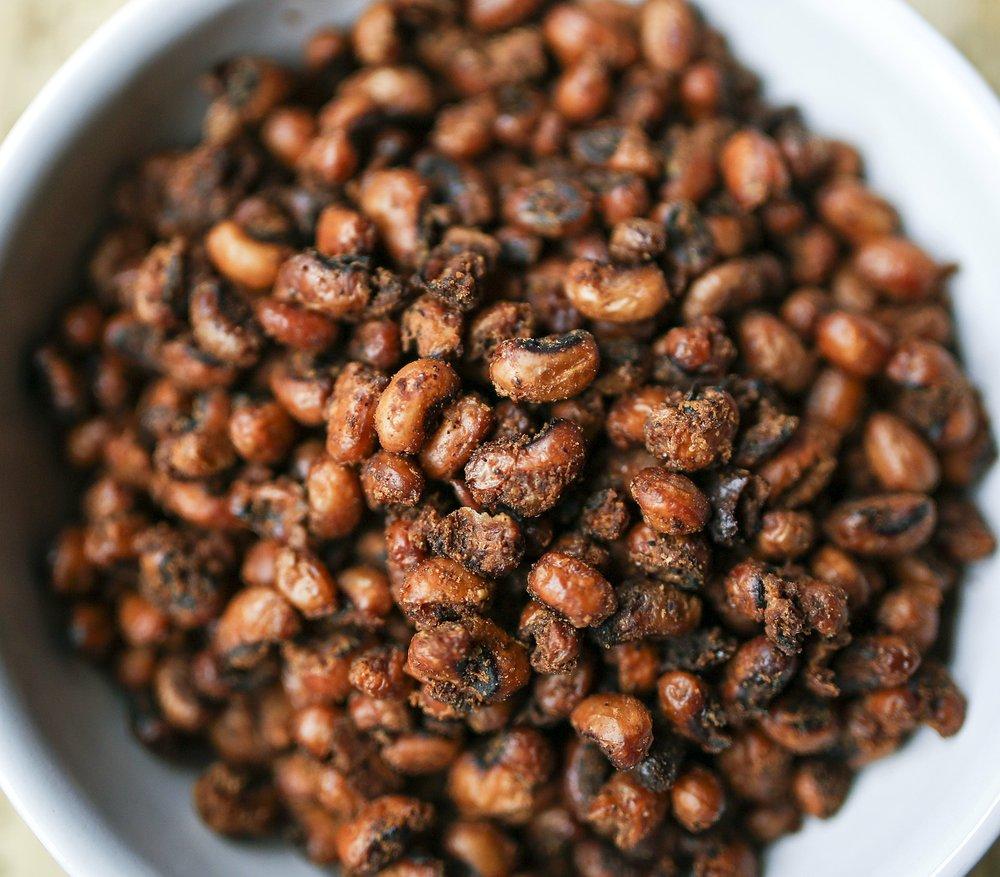 Chile Roasted Black-Eyed Peas Photo by Mitchell Pe Masilun