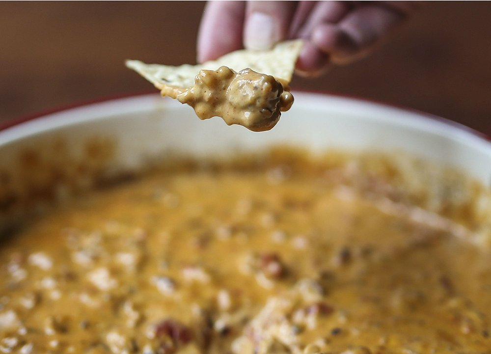 Black-Eyed Pea Cheese Dip