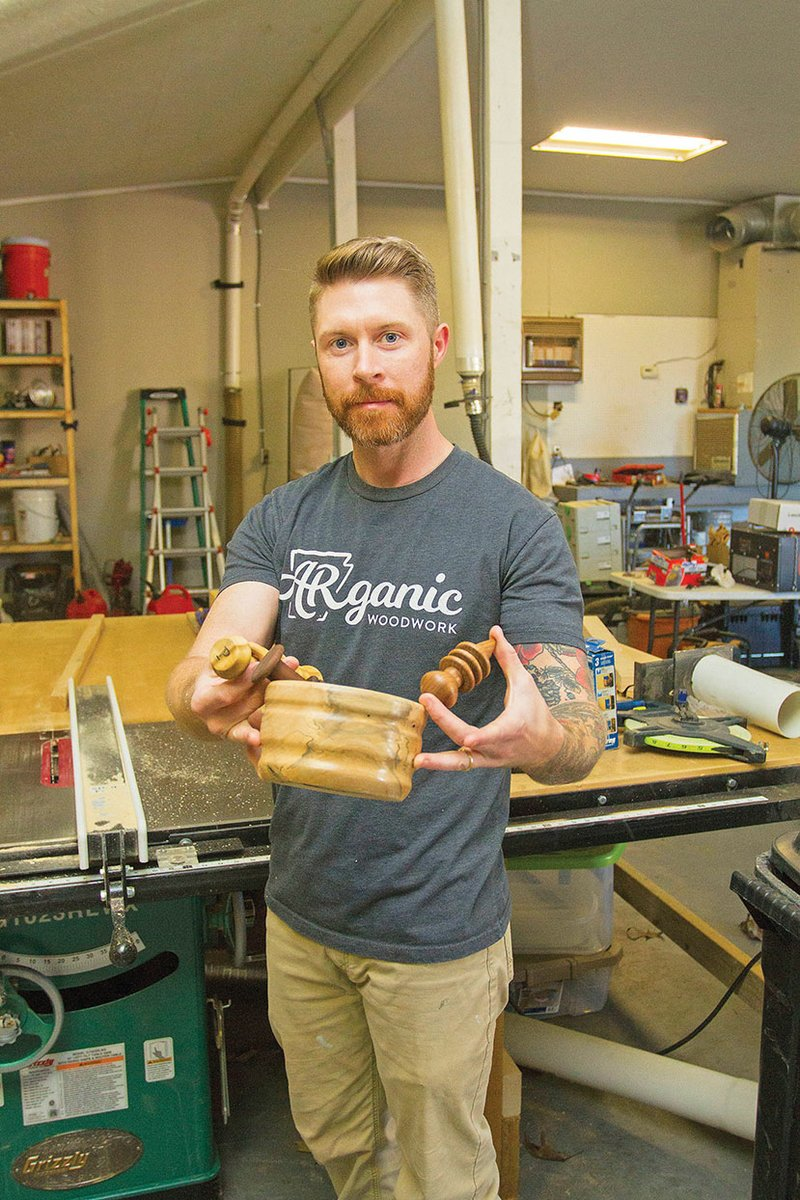 searcy man uses woodworking to unite families