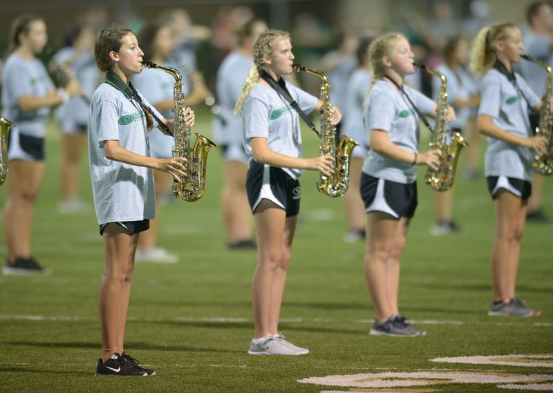 Shows by state high school marching bands making national mark