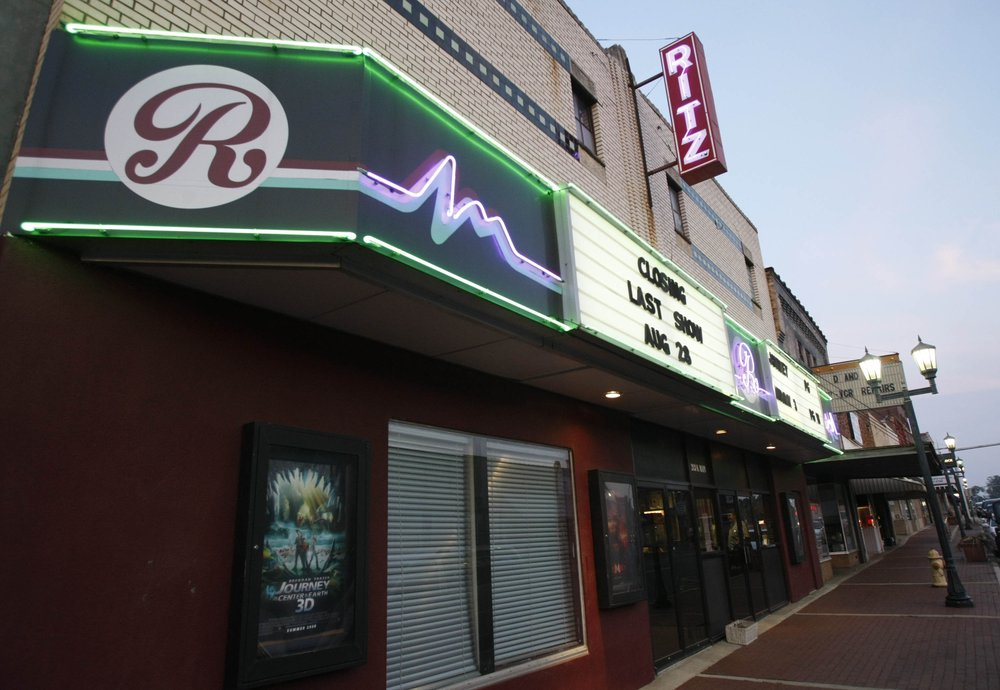 The Ritz movie theater in Malvern is shown in this file photo from when it closed in 2008. It reopened months later, but the owners say they have decided again to close it.