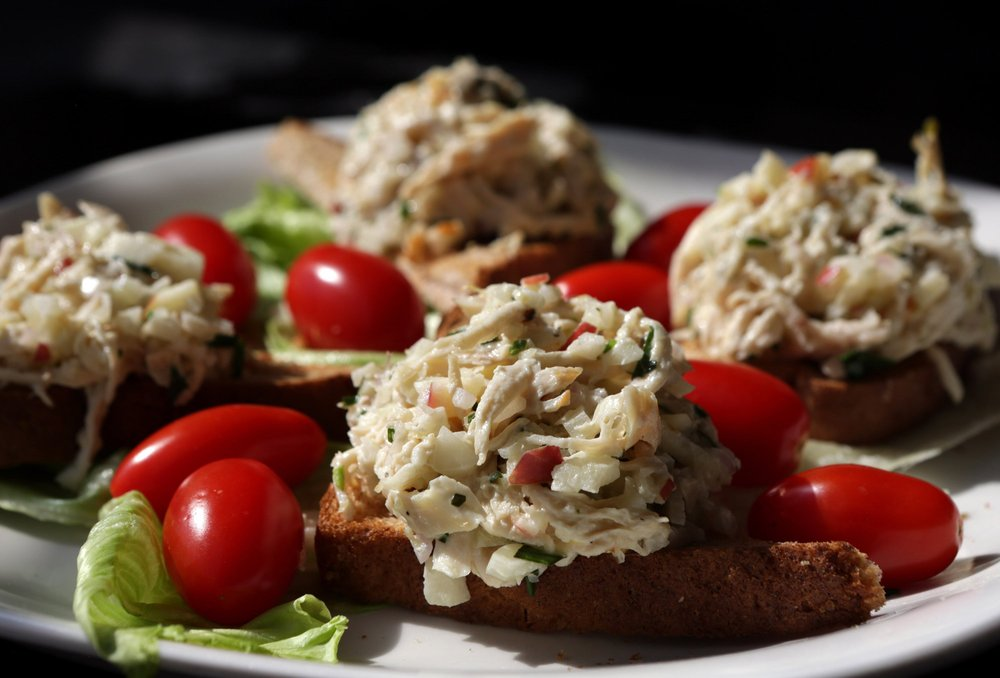 Apple-Fennel Chicken Salad