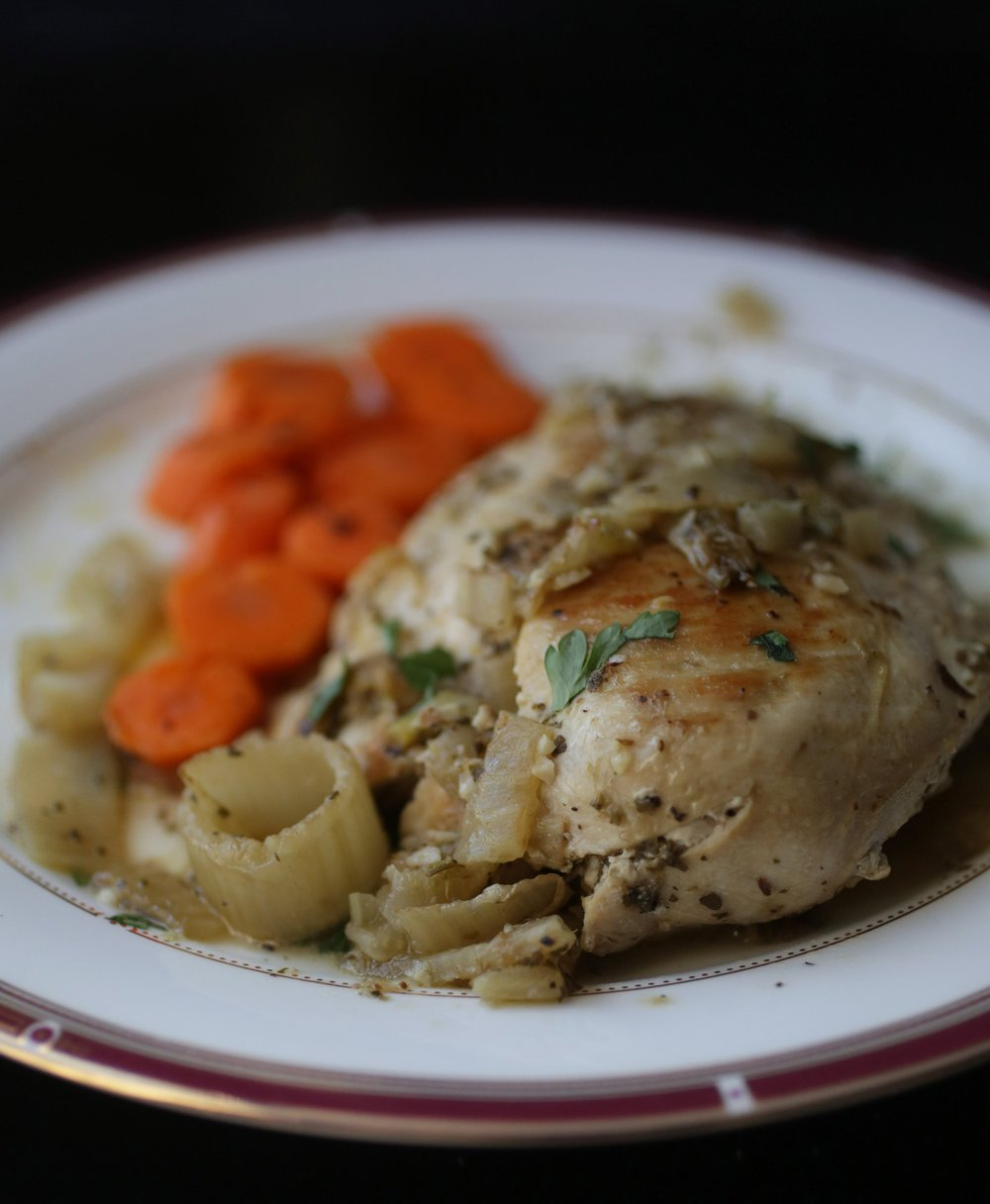 Sauteed Chicken Breasts With Fennel and Rosemary