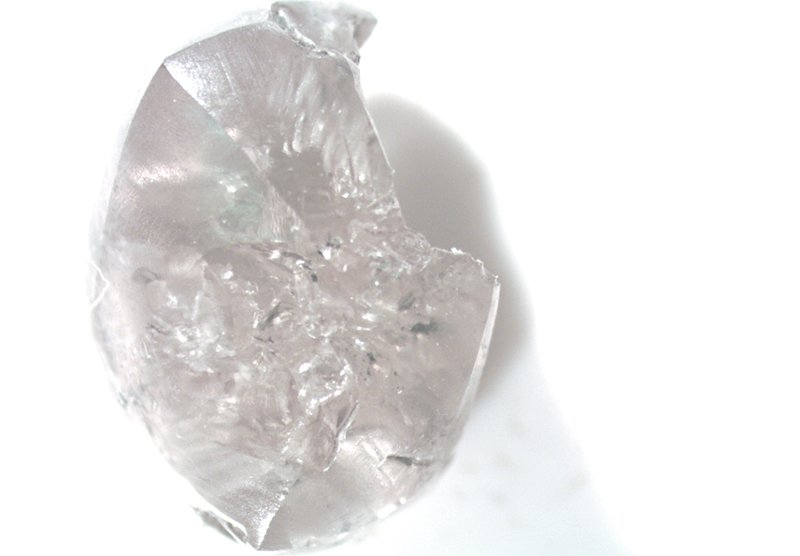 The second largest: A 1.42-carat white