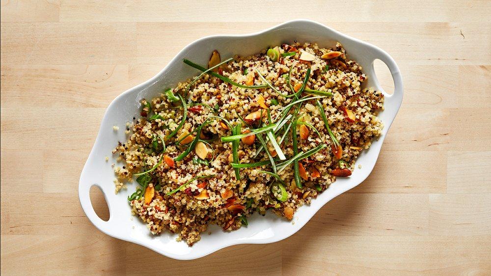 Quick Quinoa Pilaf Photo by Stacy Zarin Goldberg (For The Washington Post)