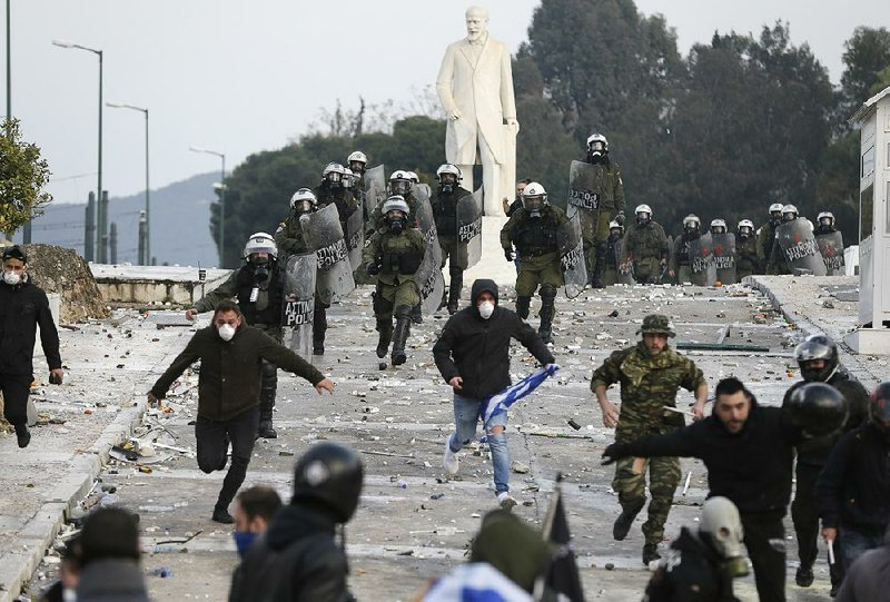 Name change sparks clashes in Greece