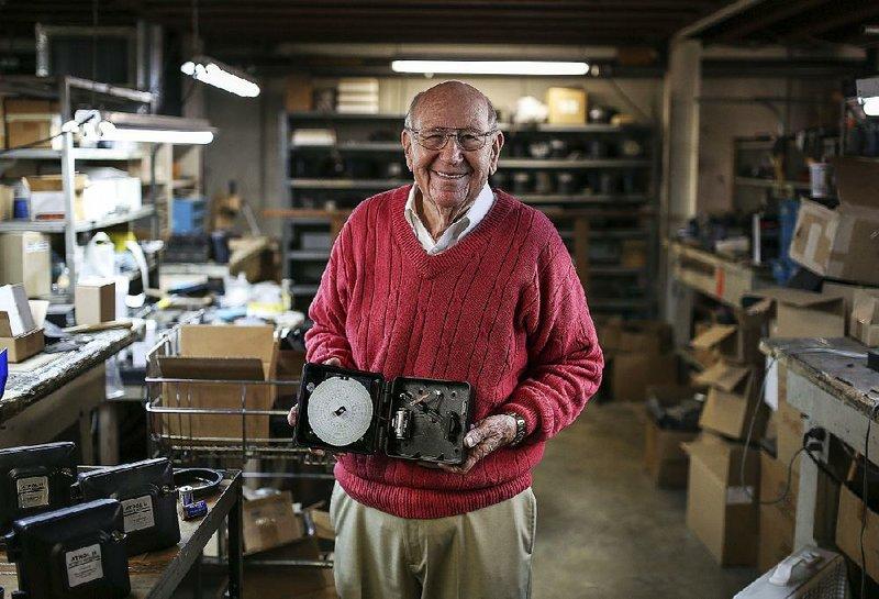 HIGH PROFILE: Bob Abbott is a clock repairman, but the Arkansas