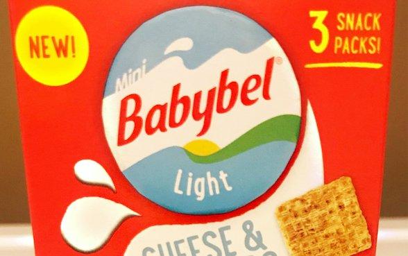 We try Mini Babybel Cheese & Crackers